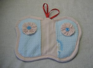 Шьем рукавичку-прихватку «Бабочка»