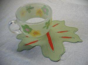 Шьем подставку «Кленовый листок» из коттона