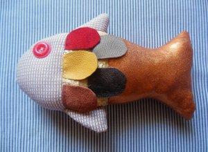 Шьем комбинированную мягкую игрушку «Золотая рыбка»