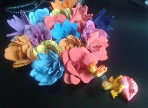 Делаем цветы из коробок из-под яиц