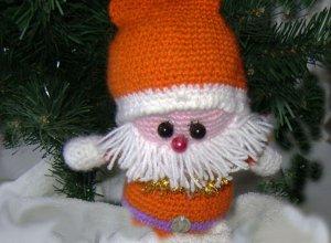 Вяжем Санта-Клауса крючком