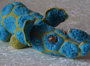 Мастер-класс по вязанию слона из мотивов крючком