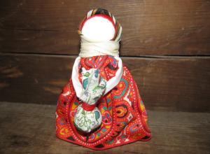 Славянская кукла-оберег Подорожница