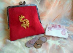 Шьем замшевый кошелёк с аппликацией из бисера