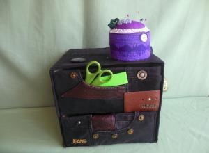 Делаем коробку для швейных принадлежностей и всяких мелочей