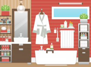 Как организовать хранение вещей в ванной комнате