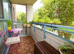 Пять простых решений по обустройству интерьера узкого балкона