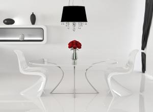 За стеклом: поговорим о стеклянной мебели и аксессуарах в интерьере