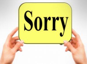 За что никогда не должна извиняться женщина