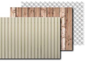 Какой забор обойдется дешевле: из рабицы, дерева или профнастила?