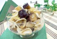 Маринованные баклажаны с луком