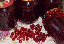 Как приготовить желе из красной смородины на зиму