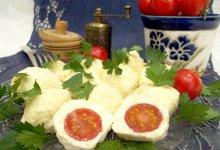 Острая сырная закуска с помидорами