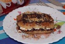 Десерт из бананов, запеченный в духовке