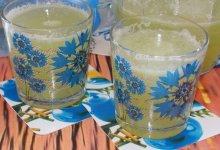 Домашний огуречный лимонад