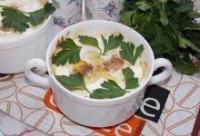 Яйца «Пармантье» (порционное блюдо)