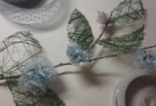 Декоративная ветвь «Цветение»