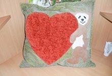 Мастер-класс по пошиву диванной подушки с аппликацией