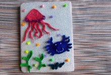 Вяжем объёмную картину «Подводный мир»