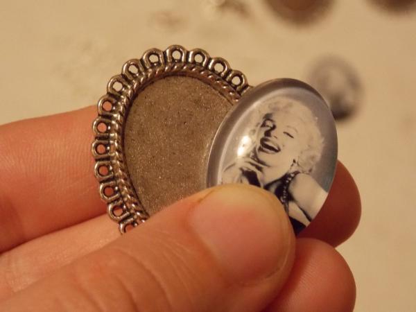 Кольцо с кабошоном своими руками
