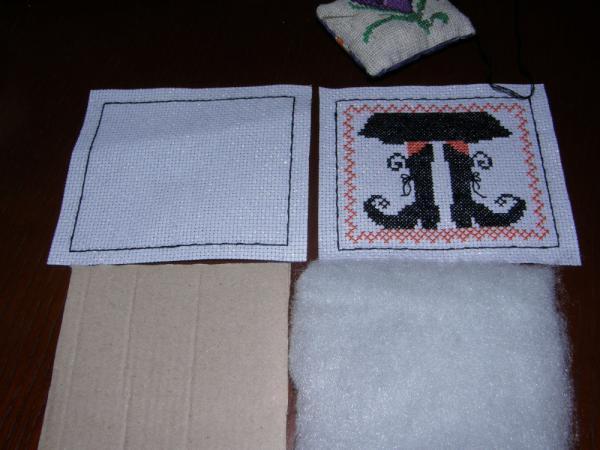 Как сделать пинкип с вышивкой