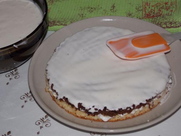 Ванька кучерявый торт пошаговый рецепт с