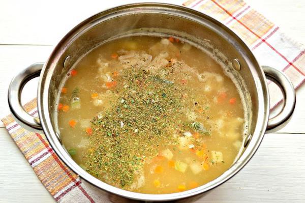 Как сварить суп из гороха с