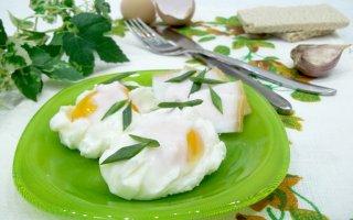 Яйца пашот сваренные в пакете