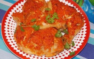 Курица в соусе «Пири-пири»